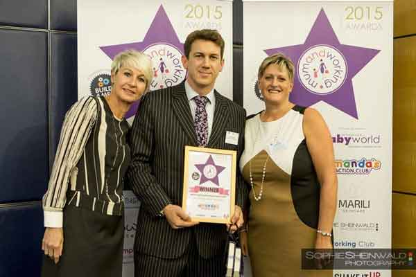 Winner Big Hat Bushcamp of the Most Inspiring Business Parent Award 2015