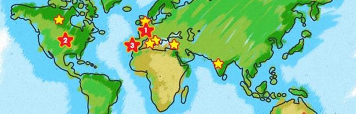 Children's favourite holidays destinations