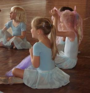 Ballet as a toddler